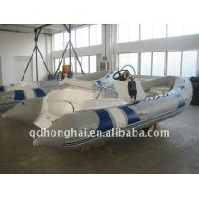 2012 caliente 420 barco inflable de la costilla