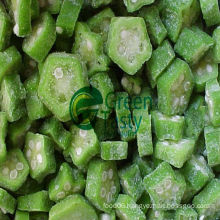 IQF Frozen Okra Cuts in High Quality