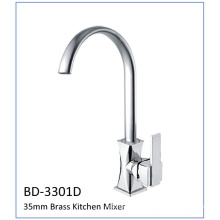 Bd3301d Faucet de cozinha com alavanca de bronze único 35mm Cartucho