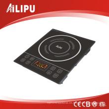Cocina de inducción eléctrica ultraplana de las nuevas placas de cristal del diseño