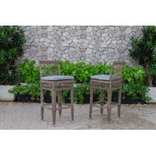 PE Rattan Outdoor High Bar Chair For Pool