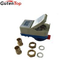 Gutentop RF ou IC carte prépayée débitmètre intelligent de l'eau