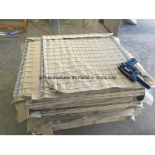 Pet Non Woven Geotextile Used on Gabion Wire Mesh