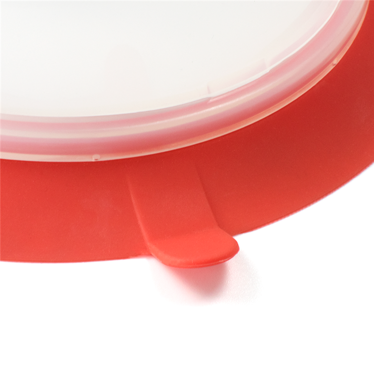 Silicone Collapsible Plate Topper 1
