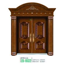 Porte en cuivre porte intérieure créative cuivre portes intérieures