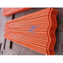 Painéis de folha Anping Factory Vento Dust Netting