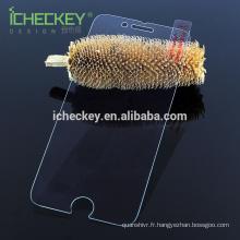 Protecteur d'écran en verre trempé léger anti-bleu pour iphone 7