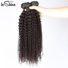 VIrgin Afro rizado rizado cabello humano tejido CUTILETO intacto superventas