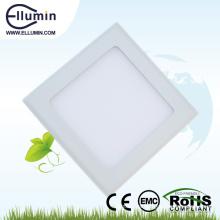 Panel cuadrado ligero luz de techo delgada 18w llevó la luz