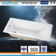 Baignoire à encastrer simple de salle de bain à prix bon marché (WTM-02814D)