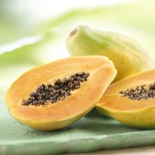 Essbare Papaya mit vielen gesundheitlichen Vorteilen und Ernährung