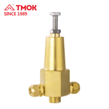 Natural color brass forging Pressure relief valve