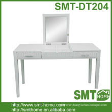 Stylish Solid Wood Cheap White MDF French Bedroom Dressing Table
