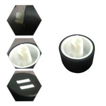 Abdominaux bon marché de boîtiers électroniques d'ABS moulés par injection de produits en plastique