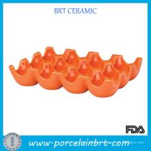 Wholesale Hand Made Orange Egg Tray
