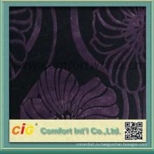 для китайских бархатный диван ткань полиэстер/хлопок