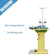 QY-282 mini calcetín máquina de coser para calcetines punta