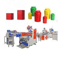 Full automatic sweet tin box making machine