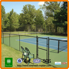 pvc coated galvanized chain link fence/fenceing