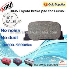 D835 Toyota Bremsbelag für Lexus