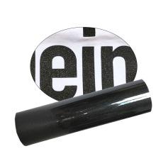 Glitter Htv for Clothing Korea Quality 12 In Easy Weed Black Glitter Heat Transfer vinilos Iron On Vinyl for Cricut