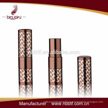 Tubo de lápiz de labios pequeño metal personalizado con logo