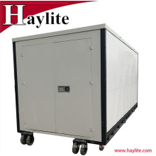 Light Duty Steel 20ft Portable Folding Container With Wheels for sale