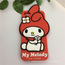 Cartoon Waterproof Soft Silicon Case for Mobile Phone