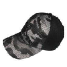 Baseball Cap with Mesh Applique Bb243
