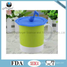 Nota musical tampa de silicone para copo de chá capa de silicone para a caneca SL13