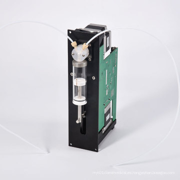 Bomba de jeringa industrial automática de alta precisión