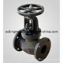 Válvula de compuerta de doble hoja paralela de hierro fundido