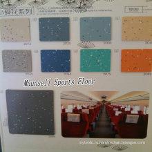 Китай завод высокое качество ПВХ/Гомогенное напольное покрытие для транспортных зон