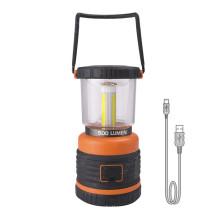 Lanterna elétrica de acampamento recarregável da lanterna do banco do poder 4400mAH