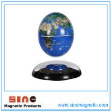 Invención Globo terráqueo con globo terráqueo magnético