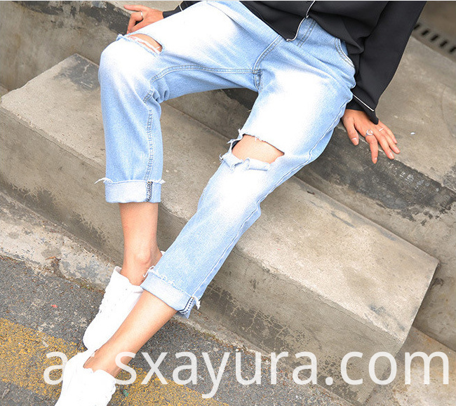 2020 autumn new jeans women's tights