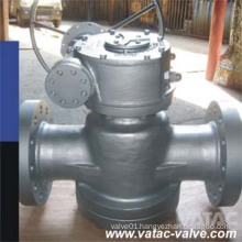 Inverted Pressure Balance Lubricated Plug Valve with Gear Operated