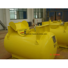 ASME Chemical Storage Tank Liner with PE Glass, Rubber with Valves and Level Gauge