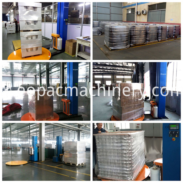 Pallet packing equipment