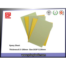 Resina epóxi laminada de isolamento de fibra de vidro Fr-4