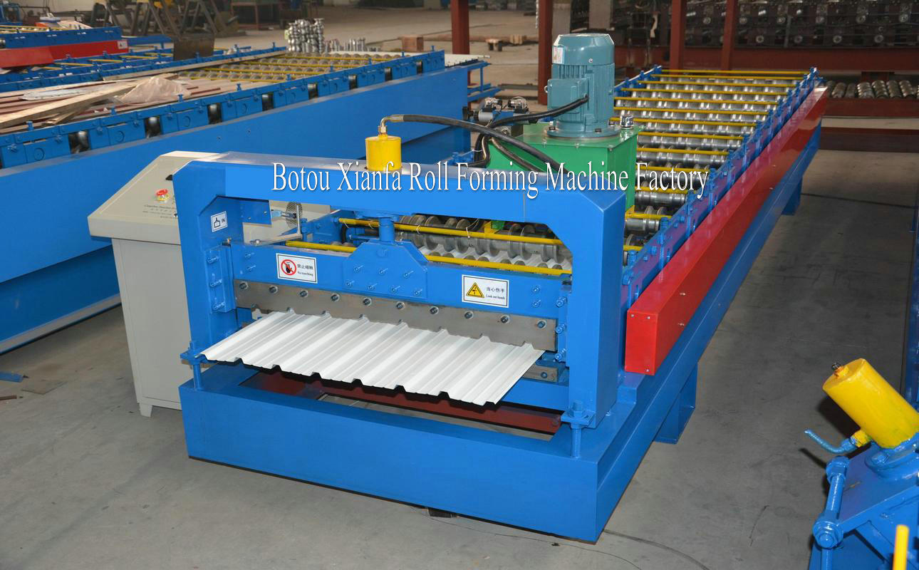 metal IBR machine