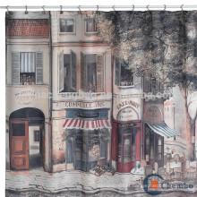 Prateleira de chuveiro para paisagens de cortina de água