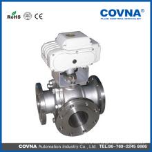 Mezclador de hormigón industrial eléctrico de acero de carbono válvula de bola