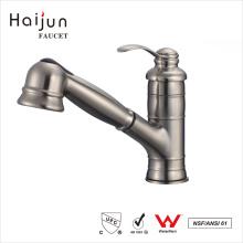 Haijun Top Selling Made China Concinnity cepillado níquel lavabo mezclador Grifería