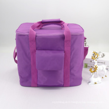 Custom Printed Portable Large Insulated Tote Bag Thermal Lunch Cooler Bag