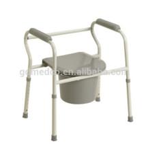 Cadeira de visita de aço dobrável para deficientes CM001