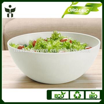Biologisch abbaubare Salatschüssel natürliche Salat Schüssel Set