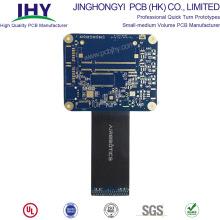 PCB flexível rígida de passagem de 8 camadas