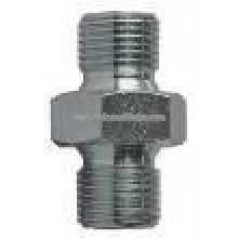H.p. nipple 250 bar G3/8M-G3/8M, tropicalized steel