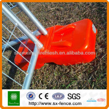 metal wire welded mesh panel temporary fence (Manufacturer)
